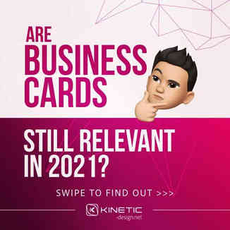 Are business cards still relevant in 2021?