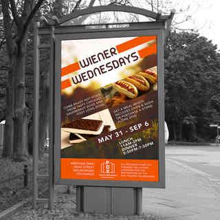 Wiener Wednesday Poster
