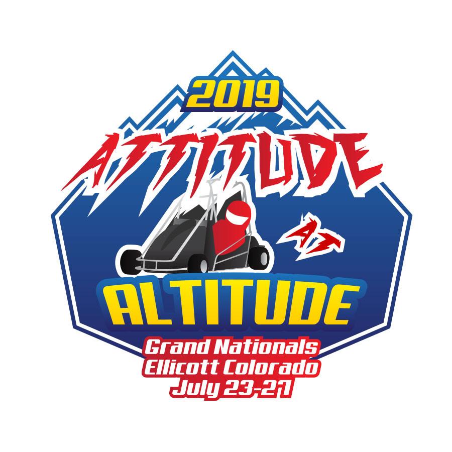 Logo design for Attitude at Altitude event in Colorado