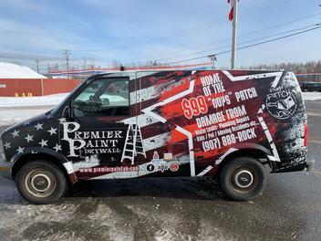 Premier Paint Van Vehicle Wrap