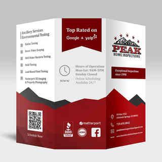 Peak Home Inspections Brochure Outside
