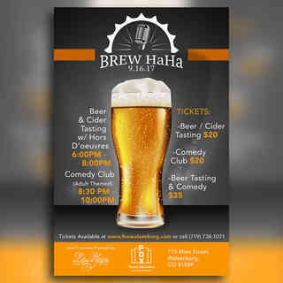 Brew Haha Poster