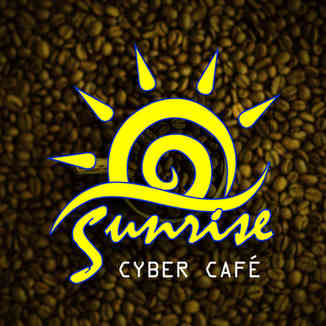 Sunrise Cyber Cafe Logo