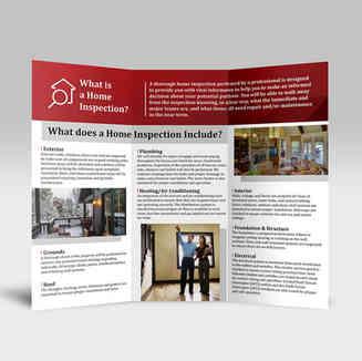 Peak Home Inspections Brochure Inside