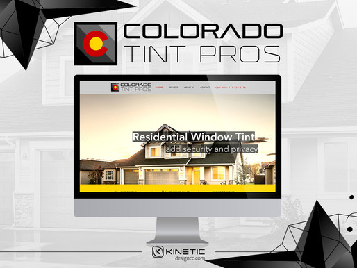 Colorado Tint Pros Logo Design & Website