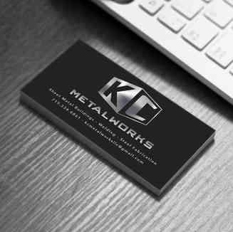 KC Metalworks Business Cards