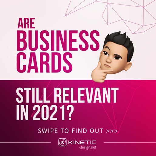 Are business cards still relevant after 2020?