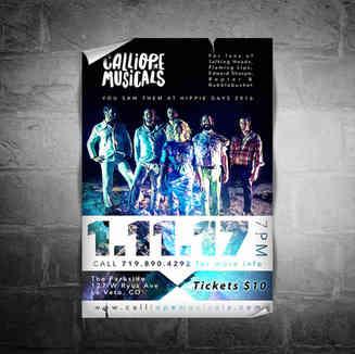 Calliope Musicals Concert Poster
