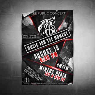 Music for the Moment Concert Poster