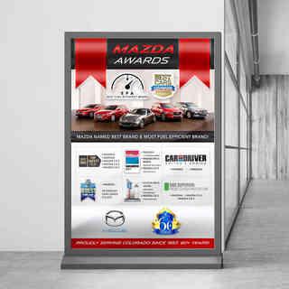 Bob Penkhus Mazda Awards Poster