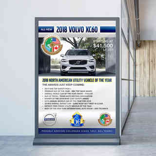 Bob Penkhus Volvo Poster
