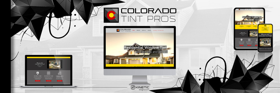 Colorado Tint Pros Website