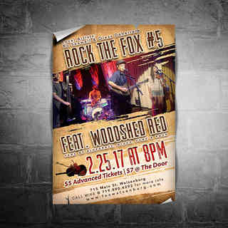 Rock the Fox 5 Poster