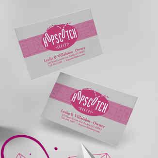 Hopskotch Bakery Business Cards