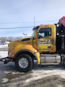 Fairbanks Stump Grinders Truck Cab Vehicle Wrap