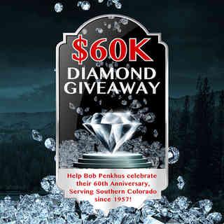 60K Diamond Giveaway Logo
