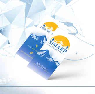 Simard Automotive Business Cards