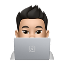 KINETIC Memoji on Laptop