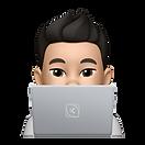 KINETIC Memoji on Laptop