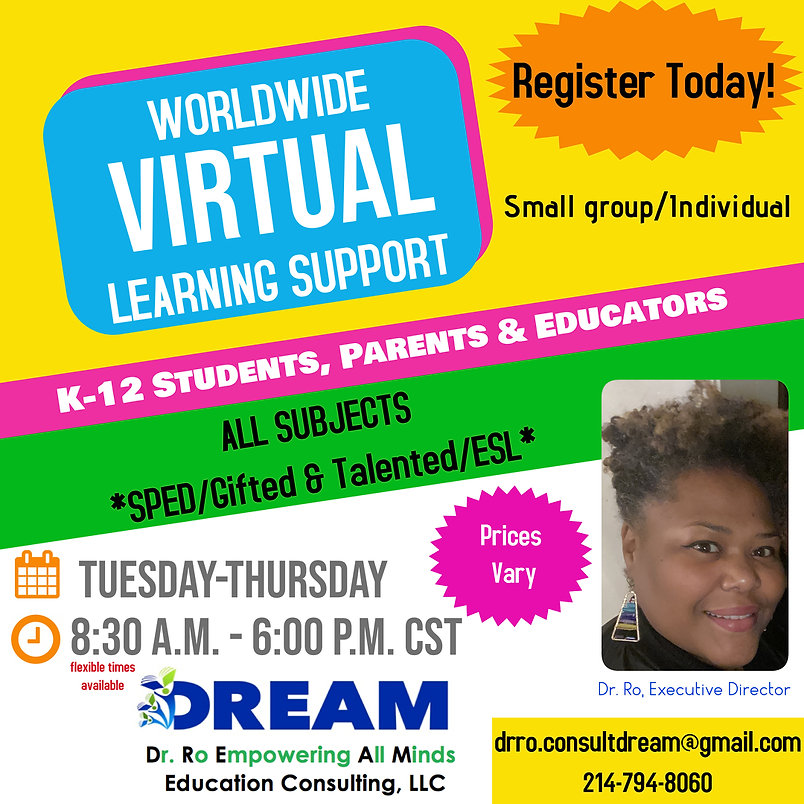 DREAM Education Worldwide Virtual Learni