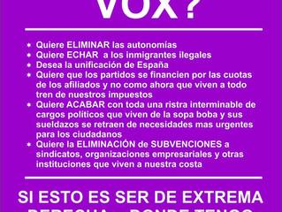 DESMONTANDO LA PROPAGANDA DE VOX