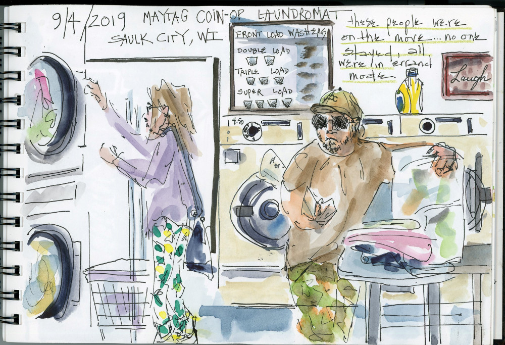 Maytag Coin-op Laundromat, Sauk City WI