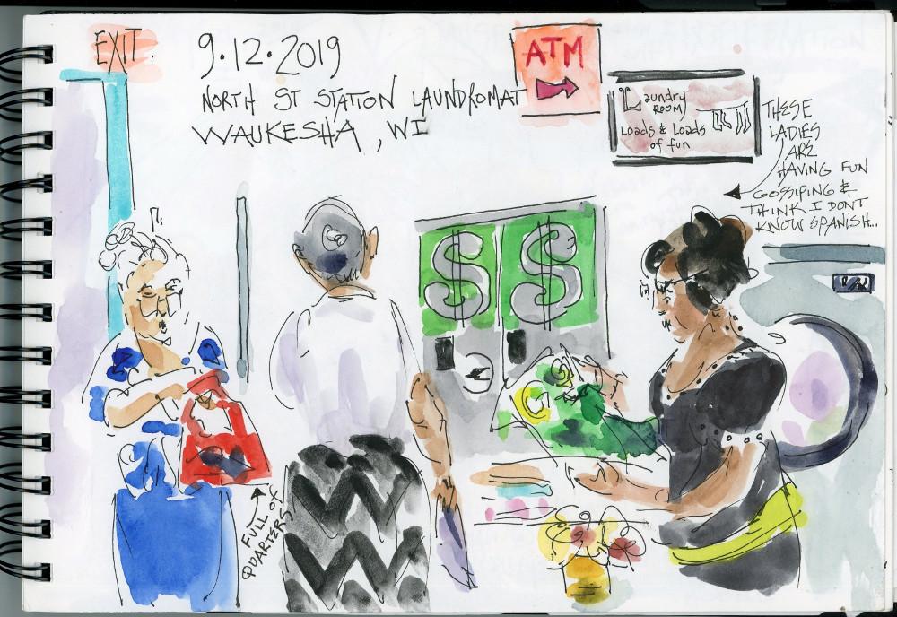 North St Station Laundromat, Waukesha WI