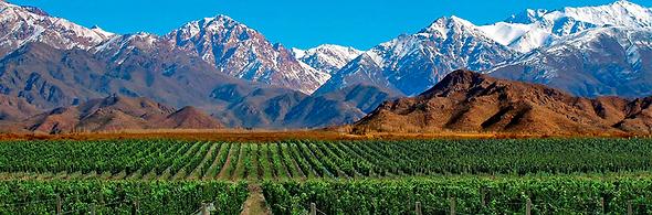 Mendoza -Valle do Uco, La Rioja, Tunuyán