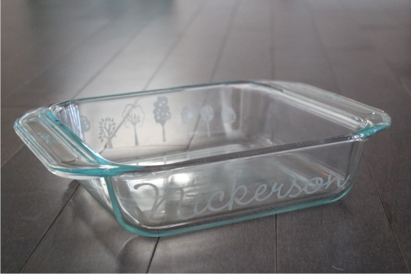 personalized bakeware