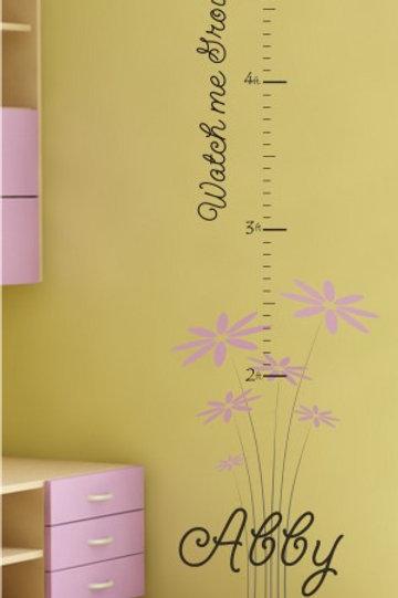 grow chart flowers