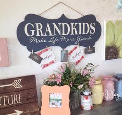 grandparent brag board