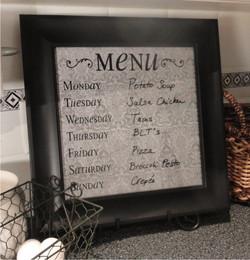 menu frame