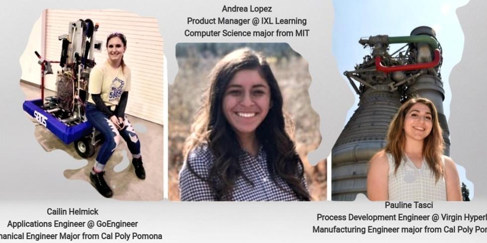 August Women in STEM Virtual Panel
