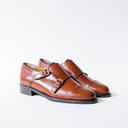 Rosebud Double Monk Straps Shoes