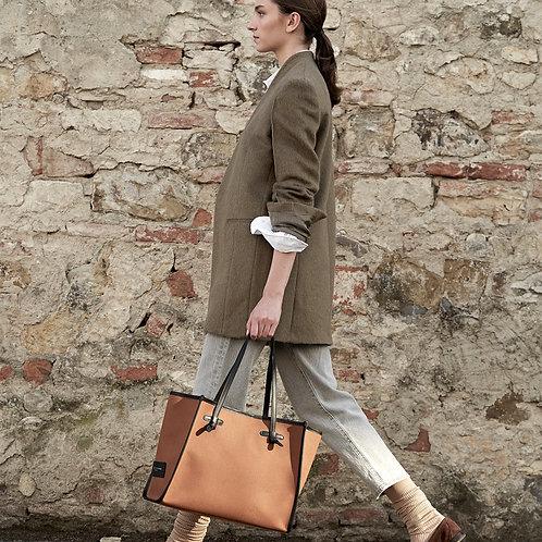 Gianni Chiarini Canvas Shopping Bag