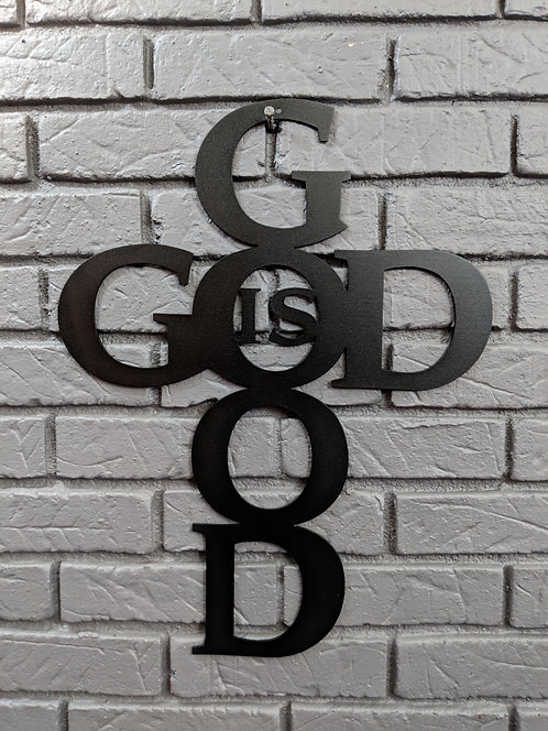 God is Good Cross