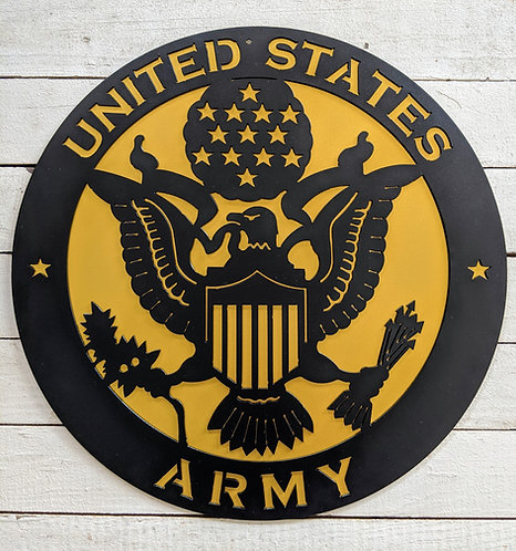 US Army layered