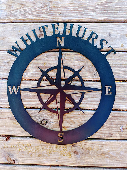 Personalized Nautical Compass