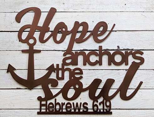Hope Anchors the Soul Hebrews 6:19