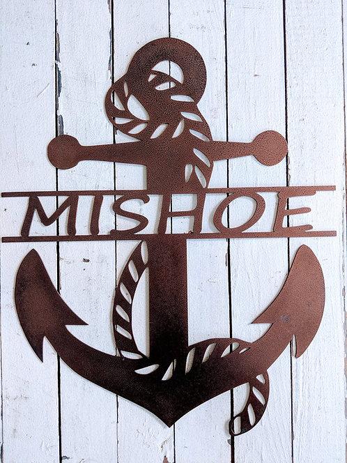Anchor Monogram