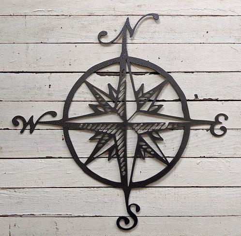 Rustic Compass Rose