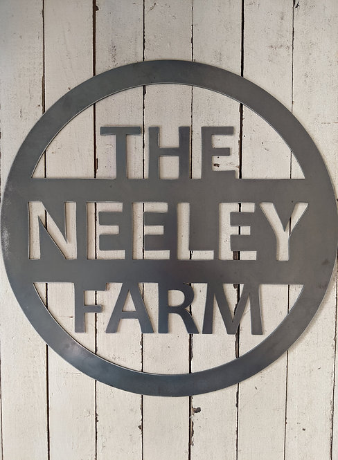 Personalized Home/Farm sign