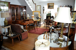 Interior of Treasures on Townsend