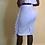 Thumbnail: Ruffles Off Shoulder Slim Jupes White Two Piece Set