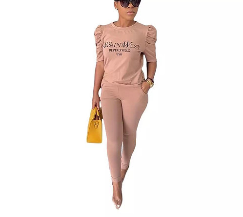 Casual Fashionable Two Pieces Set