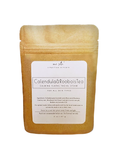 Calendula and  Rooibois Tea | Calming Facial Steam