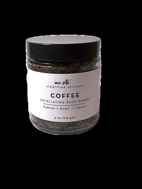 Coffee     Exfoliating Body Scrub