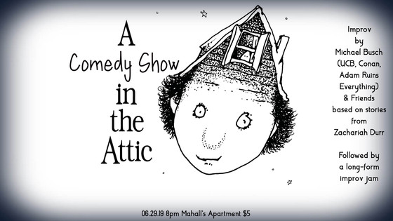 Saturday night at Mahall's - A Comedy Show In The Attic!