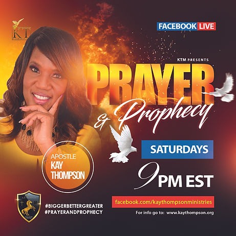 9PM Prayer and Prophecy