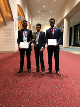 1st place in NSBE Technical Research Exposition